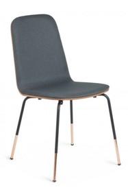 Krzesło tapicerowane STELCHRY - grafitowy