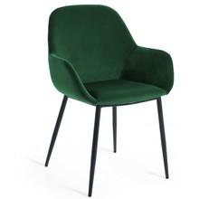 Krzesło kubełkowe NAKON - butelkowa zieleń