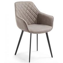 Krzesło pikowane NYAMI - beżowy