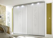 Przesuwna szafa 2-drzwiowa CLEOPATRA - biały