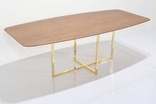 Stół ze złotą podstawą ROSSK