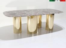 Stół z marmurowym blatem VIRGINIA