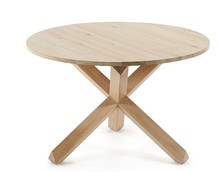 Okrągły stół RINO - dąb