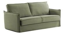 Sofa rozkładana SASAM - zielony