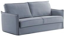 Sofa rozkładana SASAM - niebieski