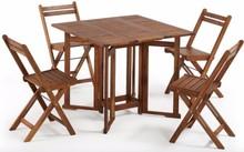 Stół z krzesłami GUSTAVE