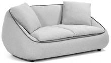 Sofa 2-osobowa RASAFI - jasnoszary
