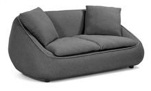 Sofa 2-osobowa RASAFI - ciemnoszary