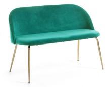 Sofa bez boków TEREMYS - zielony