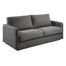Sofa rozkładana MOONKO - grafitowy