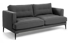 2-osobowa sofa NYVIN - grafitowy