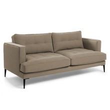 2-osobowa sofa NYVIN - brązowy