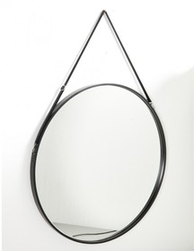Okrągłe loftowe lustro TRINEER