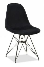 Krzesło MPC ROD TAP - czarny welur/czarny