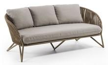 Sofa 3-osobowa do ogrodu ZIEBRAN