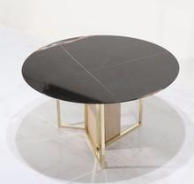 Stół okrągły SIANA - marmur