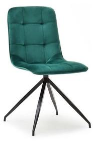 Krzesło pikowane SALLY - zielony