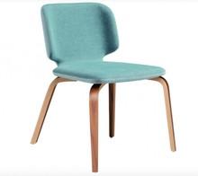 Tapicerowane krzesło bez podłokietników WRAP MIDJ