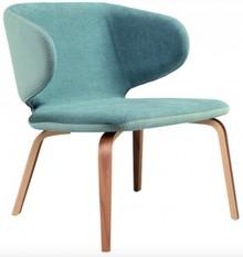 Fotel tapicerowany WRAP