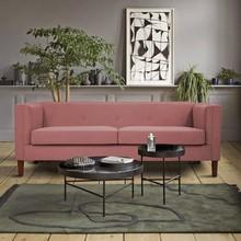 Sofa 3-osobowa AXEL - różowy