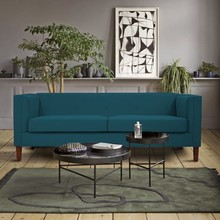Sofa 3-osobowa AXEL - turkusowy