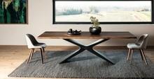 Stół z drewnianym blatem NESUS 250x106 MIDJ