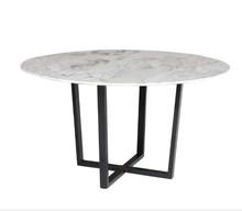 Stół okrągły z marmurowym blatem ROSSK