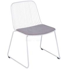 Krzesło metalowe bez podłokietników DABREN