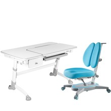 Amare Grey with Drawer + Primavera II Blue