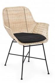 Krzesło ATICA NERO - czarny