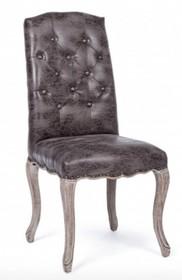 Krzesło DIVA DARK - ciemny szary