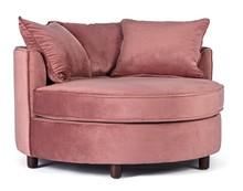 Fotel ALISTAIR - różowy