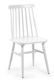 Krzesło drewniane TIEKRIS - biały