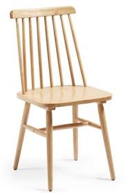 Krzesło drewniane TIEKRIS - naturalny