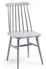 Krzesło drewniane TIEKRIS - szary