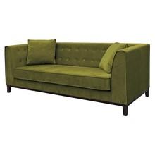 Sofa 3-osobowa LEYA - oliwkowy