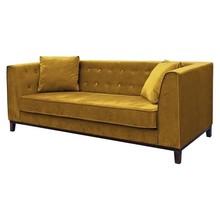 Sofa 3-osobowa LEYA - żółty