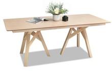 Stół na kozłach PALMIR 200x90 - dąb bielony