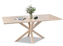 Stół jadalniany LOMA 180x90 - dąb bielony