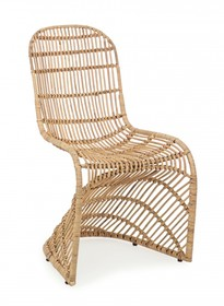 Krzesło ogrodowe ZELAI - naturalny