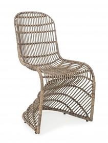 Krzesło ogrodowe ZELAI - szary
