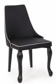 Krzesło VITT ekoskóra - czarny