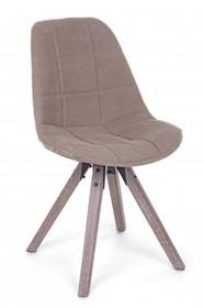 Krzesło ARMOR - jasny brąz