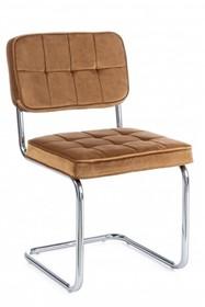 Krzesło IOLE - musztardowy