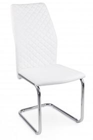 Krzesło LOUISE WHITE - biały