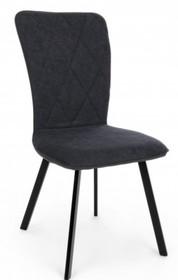 Krzesło ANGEL - antracyt/czarny