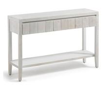 Drewniana konsola DYWOO - biały
