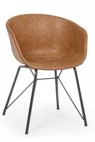 Krzesło WARHOL - brązowy