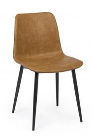 Krzesło KYRA - brązowy