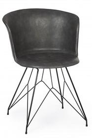 Krzesło LOFT - ciemnoszary